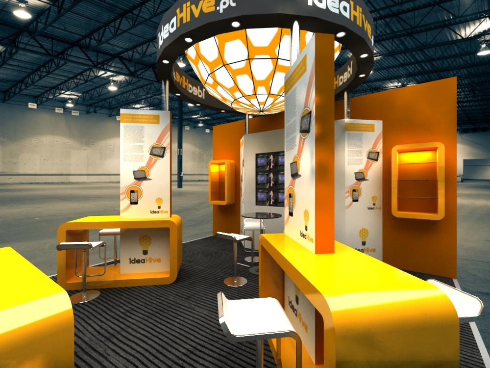 Triline Studio Idea Hive Stand 04
