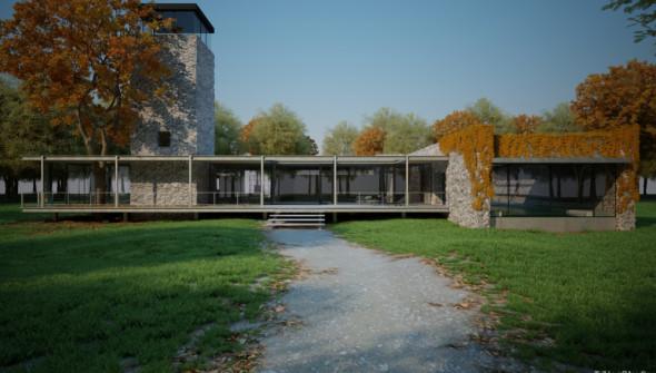 Triline Studio Jodlowa House 3D 01