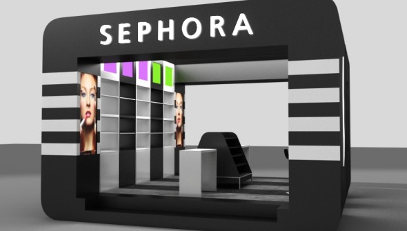 Triline Studio Sephora Pop Up Store 01