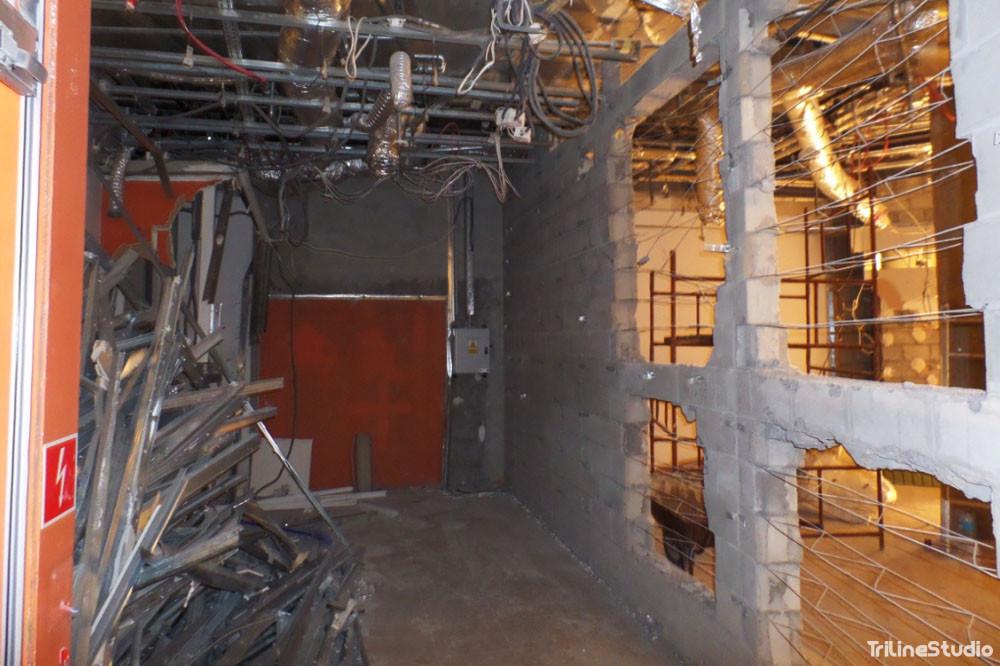 Triline Studio Parfois Shop Sklep Construction Budowa Zlote Tarasy Warszawa 1#