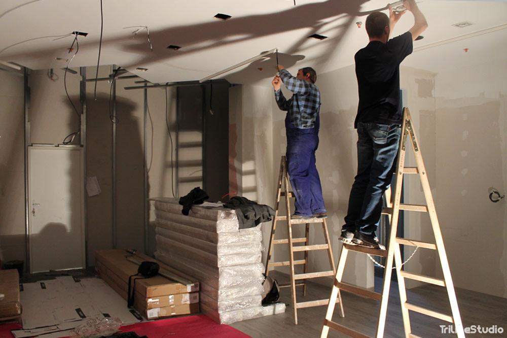 Triline Studio Parfois Shop Sklep Construction Budowa Zlote Tarasy Warszawa 4#