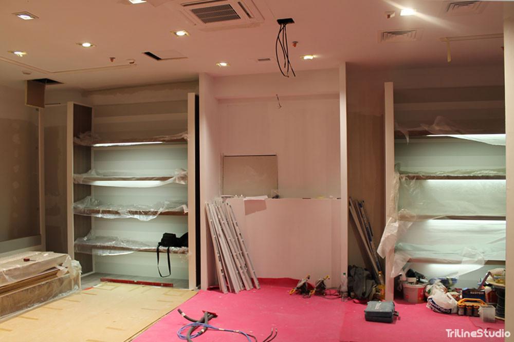 Triline Studio Parfois Shop Sklep Construction Budowa Zlote Tarasy Warszawa 5#