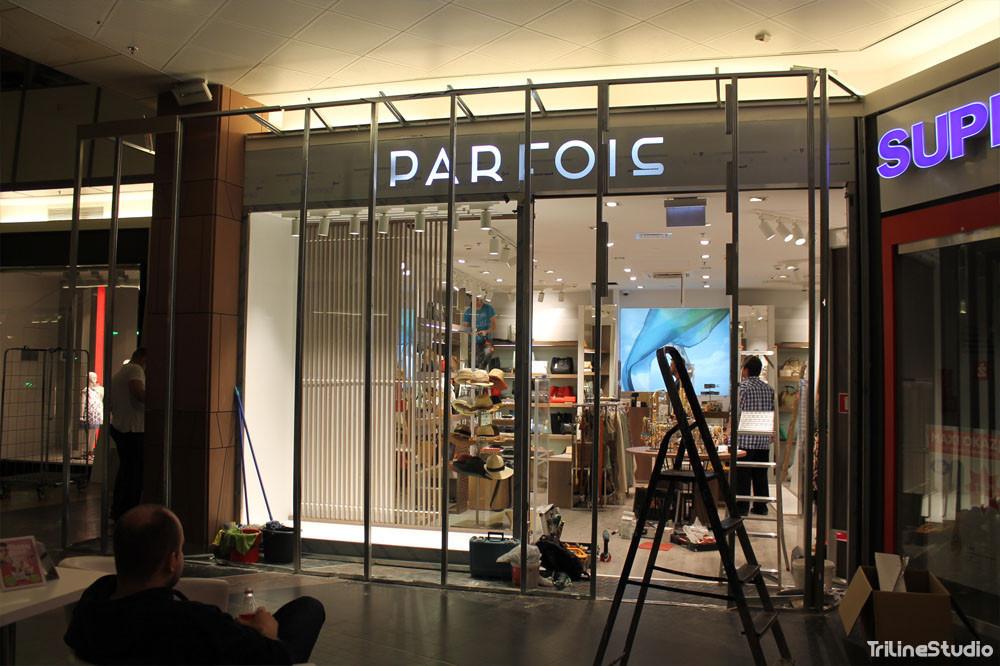 Triline Studio Parfois Shop Sklep Construction Budowa Zlote Tarasy Warszawa 6#