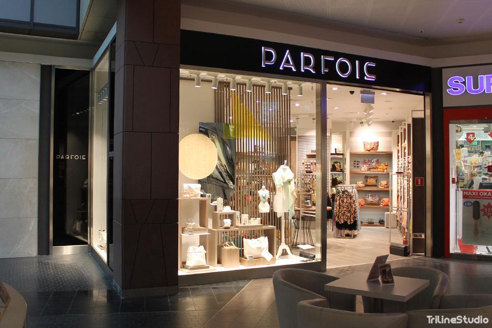 Triline Studio Parfois Shop Sklep Construction Budowa Zlote Tarasy Warszawa 8#